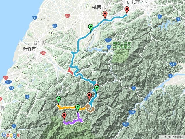 106.06.24-霞喀羅古道登超硬的~養老山