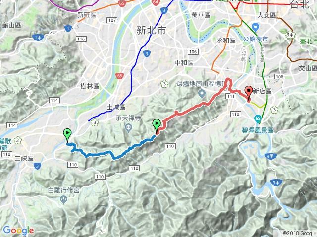 環台北天際線第十段:三峽─新店
