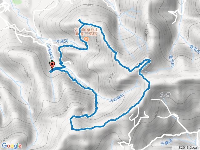 20171223十三分山、金面山、金山面山
