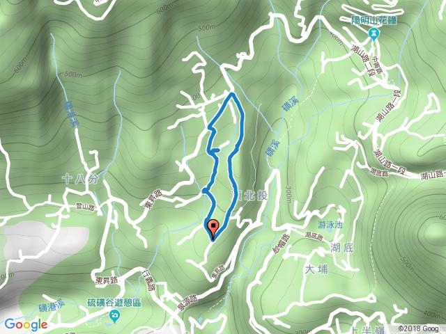 2018-02-20  台北市北投區 東昇步道(十八挖水圳步道)-風尾步道