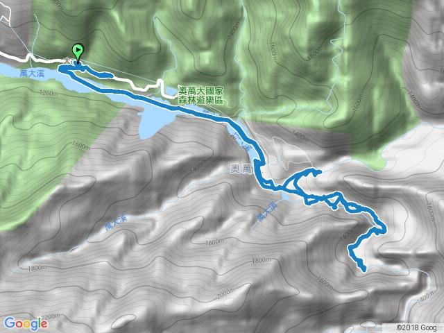 萬大南溪峽谷