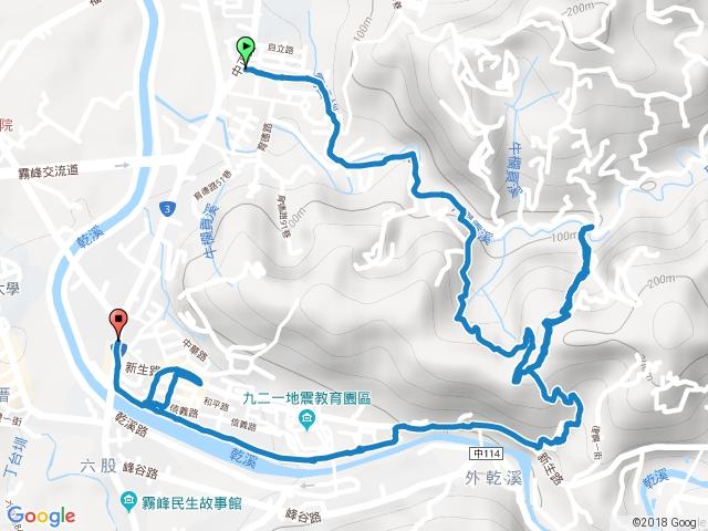 【霧峰】阿罩霧櫻花杜鵑步道+竹林步道+乾溪步道