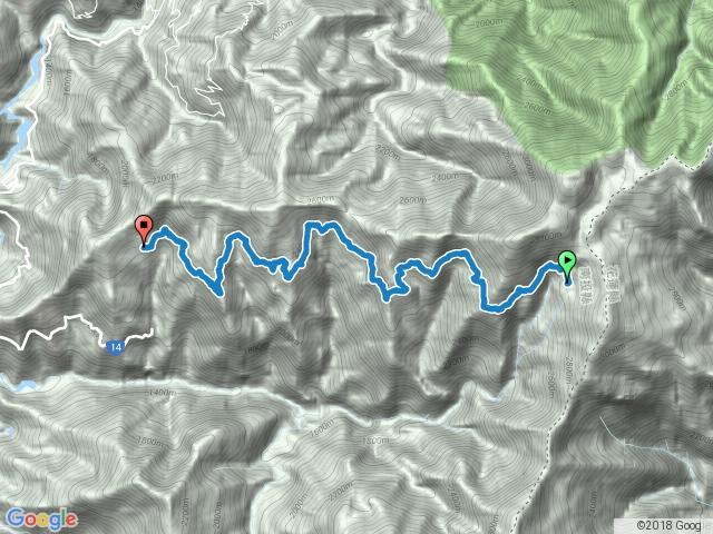 屯原登山口-天池山莊