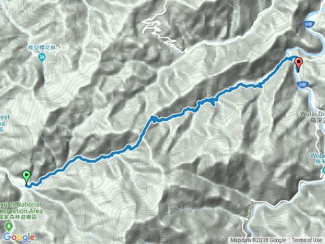 熊空-紅河谷越嶺道