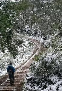 基隆姜子寮賞雪趣