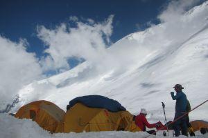 列寧峰7134公尺--C2至峰頂照