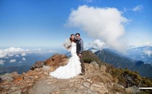 玉山 婚紗 照