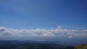 天很藍 雲很白