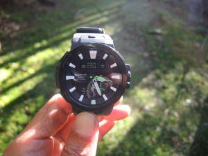 【錶測】CASIO PRO TREK PRW-7000登山錶於高山上的應用