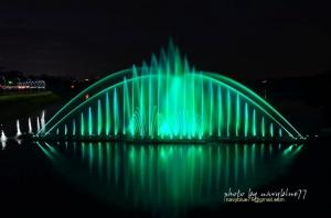 【嘉義】蘭潭音樂噴泉.月影潭心--光影與色彩的交響曲