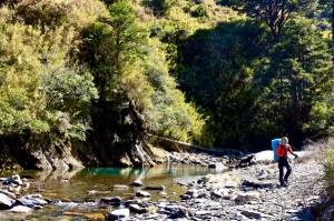 高山秘境:石門北峰下合歡溪源