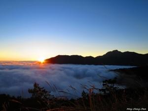 【山岳之美】~合歡群峰