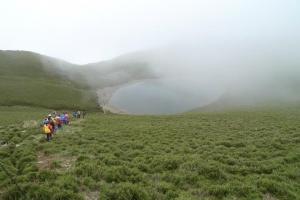 山岳之美-嘉明湖