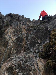 極限演出-玉山東峰