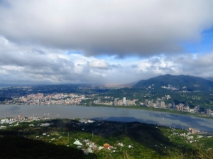 觀音山連峰暨硬漢嶺相關景觀