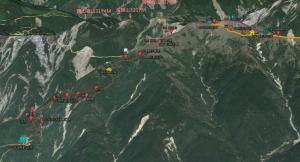 【登山安全】3D地球圖製作~登山之前,先紙上模擬登山
