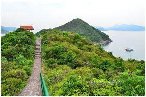 香港橋咀洲地質步道