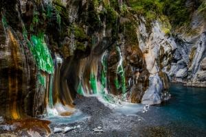 【美哉台灣】台灣最美麗的野溪溫泉:栗松溫泉