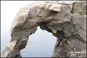 新北。番仔澳酋長岩。象鼻岩。在地美味小吃