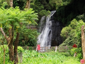 【台北市】封閉的聖人瀑布