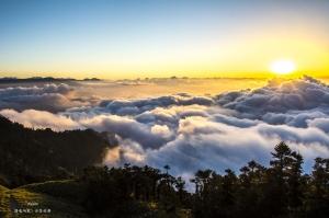山岳之美--合歡山