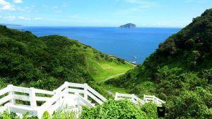 八斗子忘憂谷。看山看海。八斗子濱海公園