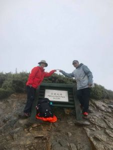2018.6.17第四座百岳-合歡北峰