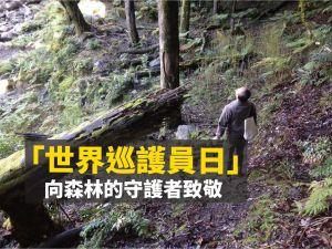 【環境】揹起重裝 守護仙境 「世界巡護員日」向森林護管員致敬
