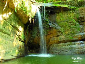 望古瀑布、嶺腳瀑布