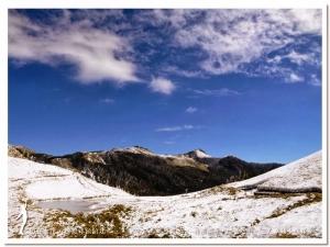 【南投】奇萊南華雪景美若歐洲