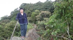 20141007皇帝殿登山步道驚險行