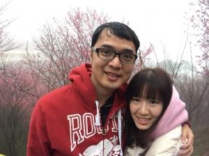 20180128苗栗獅潭協雲宮賞櫻趣