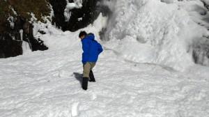能高越嶺~雪季