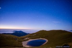 海上之湖--雲海上的嘉明湖