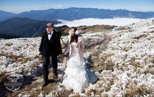在南湖的我們~高山 南湖 婚紗照
