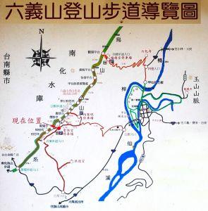高雄甲仙六義山步道(百葉線)