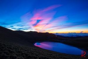 【山岳之美】天使的眼淚-嘉明湖