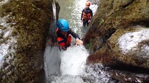 梅花溪溯行-梅花瀑布垂降、跳水趣