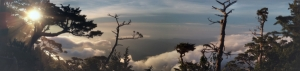 北大武山雲瀑行