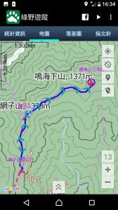 網子山-鳴海山
