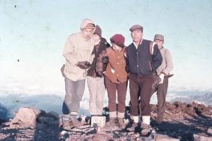 台灣五大山脈  登頂紀錄