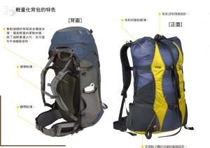 登山背包的選用
