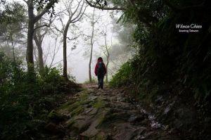 南邦寮山, 二格山, 猴山岳 & 猴山岳前峰 O 型