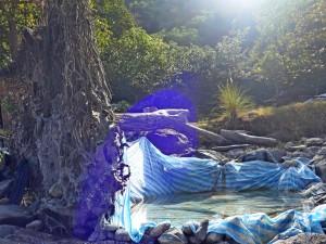 寶來十坑野溪溫泉露營趣