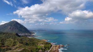 火山、海岸,芒花、浪花,南雅、南子吝山