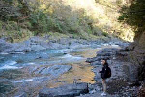 秀巒部落:塔克金溪