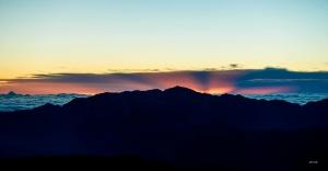 聖稜線 雪山