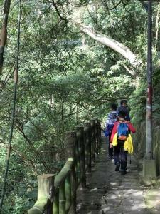 風景優美的親山步道