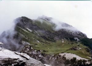 1981年,南湖中央尖