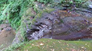 層層疊疊的茄苳瀑布!